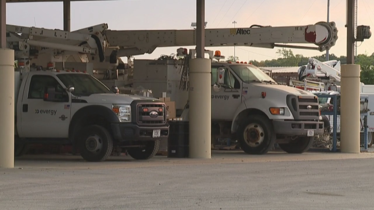 Image for Local crews head to Louisiana to help restore power