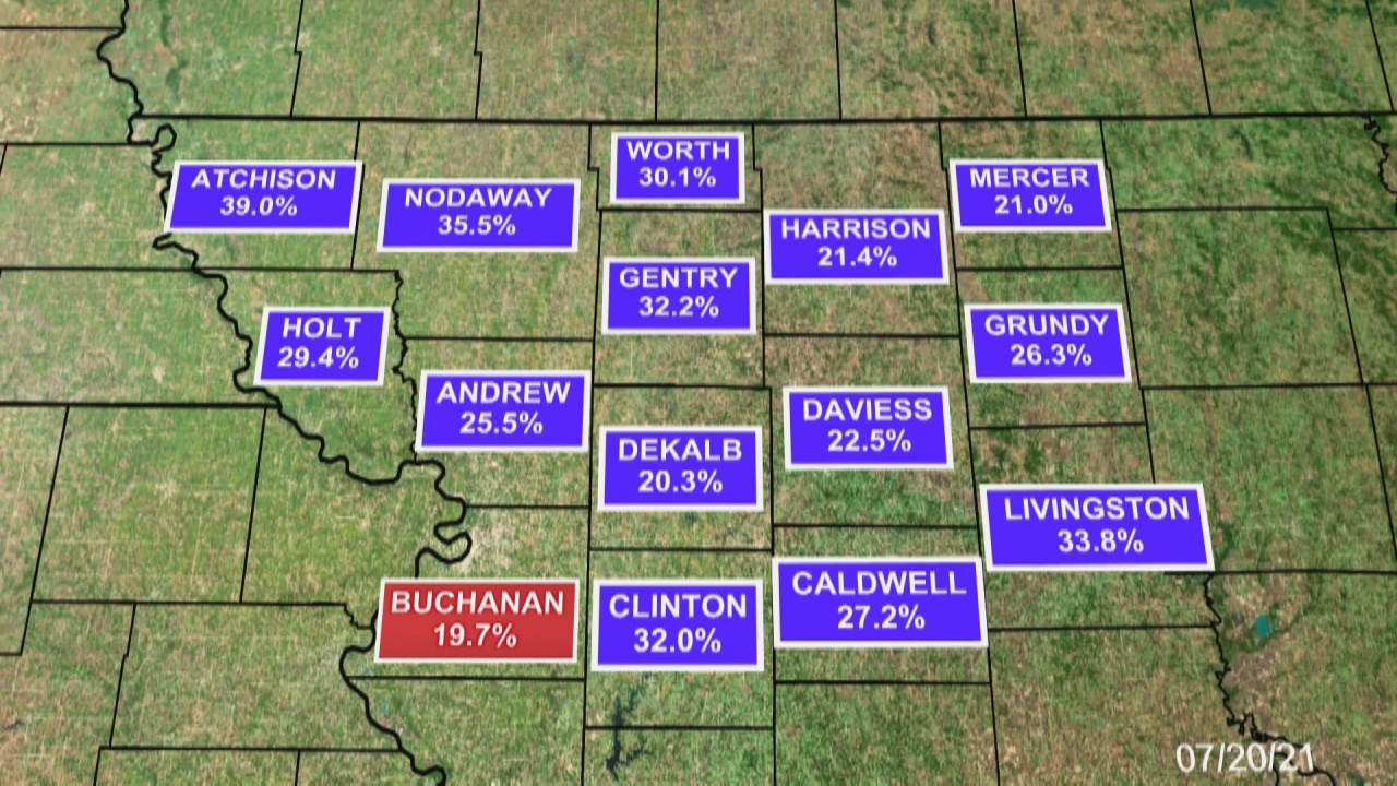 Image for Buchanan county has lowest vaccination rate in NW Missouri