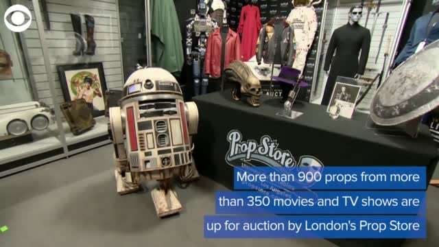 WATCH: Famous TV, Movie Props Go Up For Auction