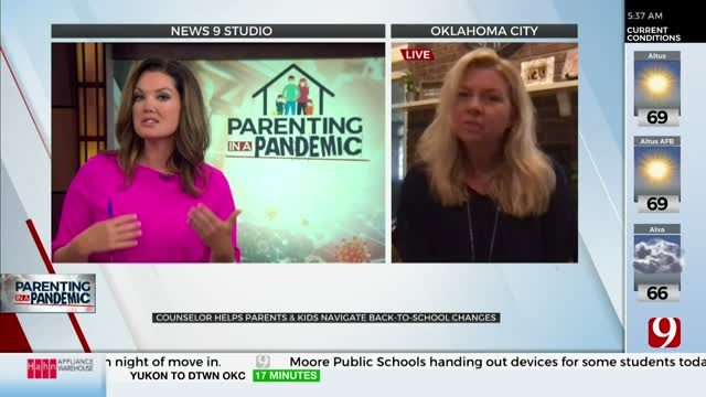 Watch: Counselor Helps Parents, Kids Navigate Back-To School Changes