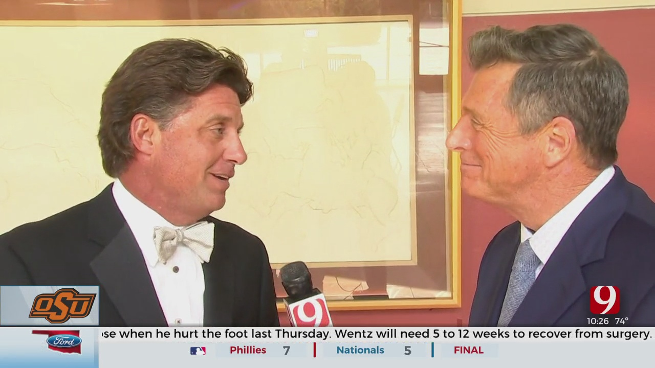 Dean's 1-On-1 Interview: Gundy Inducted Into Oklahoma Sports Hall Of Fame