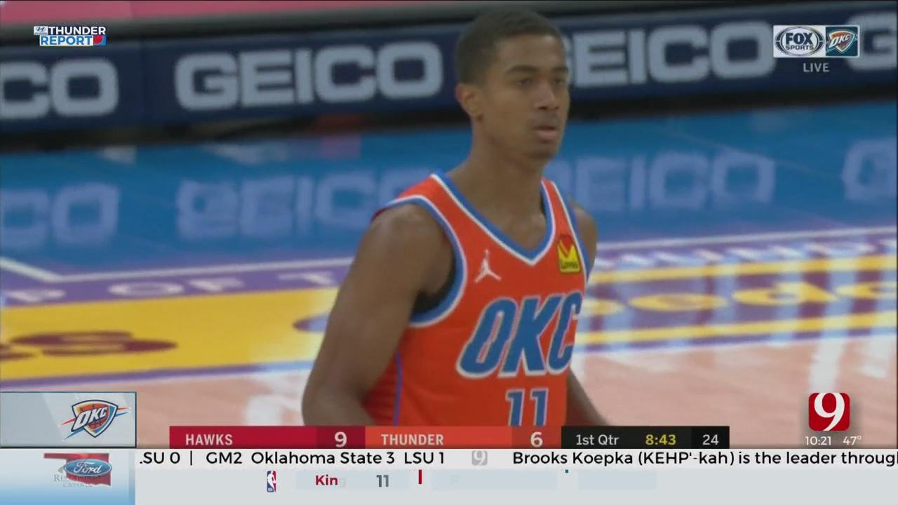 Oklahoma City Slows Down Norman Native Trae Young, Atlanta Hawks