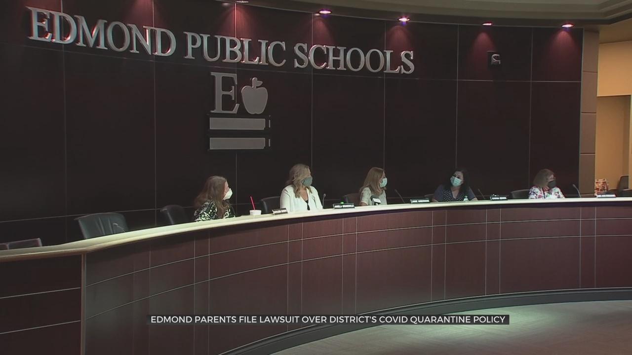Edmond Public School Parents File Lawsuit Over District's COVID Quarantine Policy