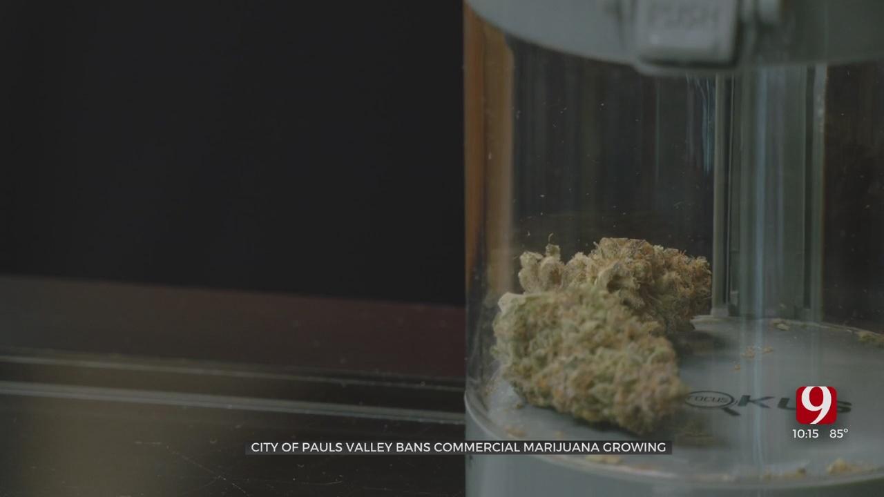 Pauls Valley Passes Regulations For Marijuana Businesses Inside City Limits