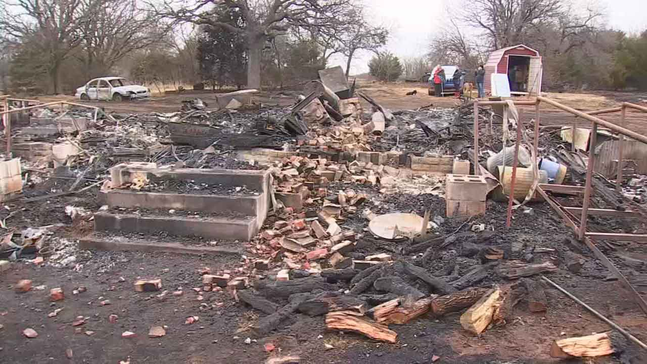 Perkins Family Loses Home, Generations Of Native American Culture In Fire