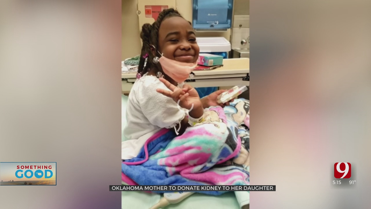 Oklahoma Mother Giving Daughter Second Chance At Life With Kidney Donation