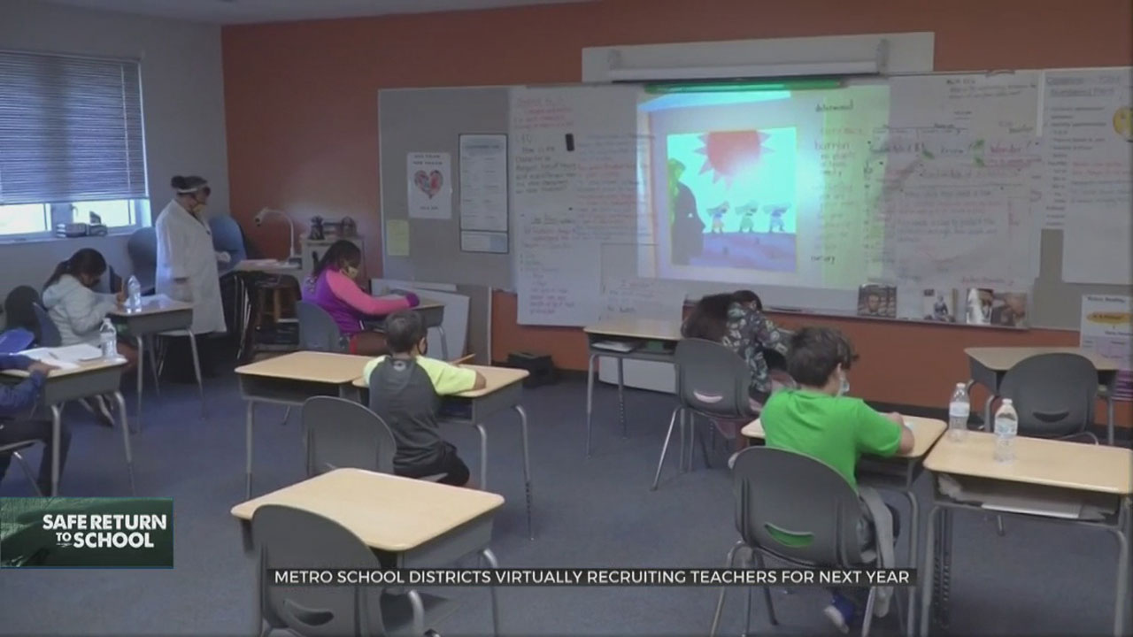 Metro School Districts In Need Of Teachers For Next School Year
