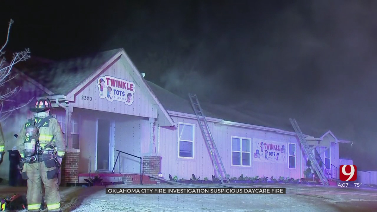 NW OKC Daycare Owner Says She Hopes To Rebuild After Building Was Destroyed In Suspicious Fire
