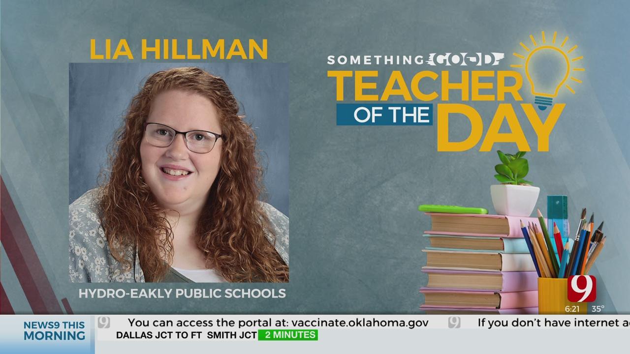 Teacher Of The Day: Lia Hilman
