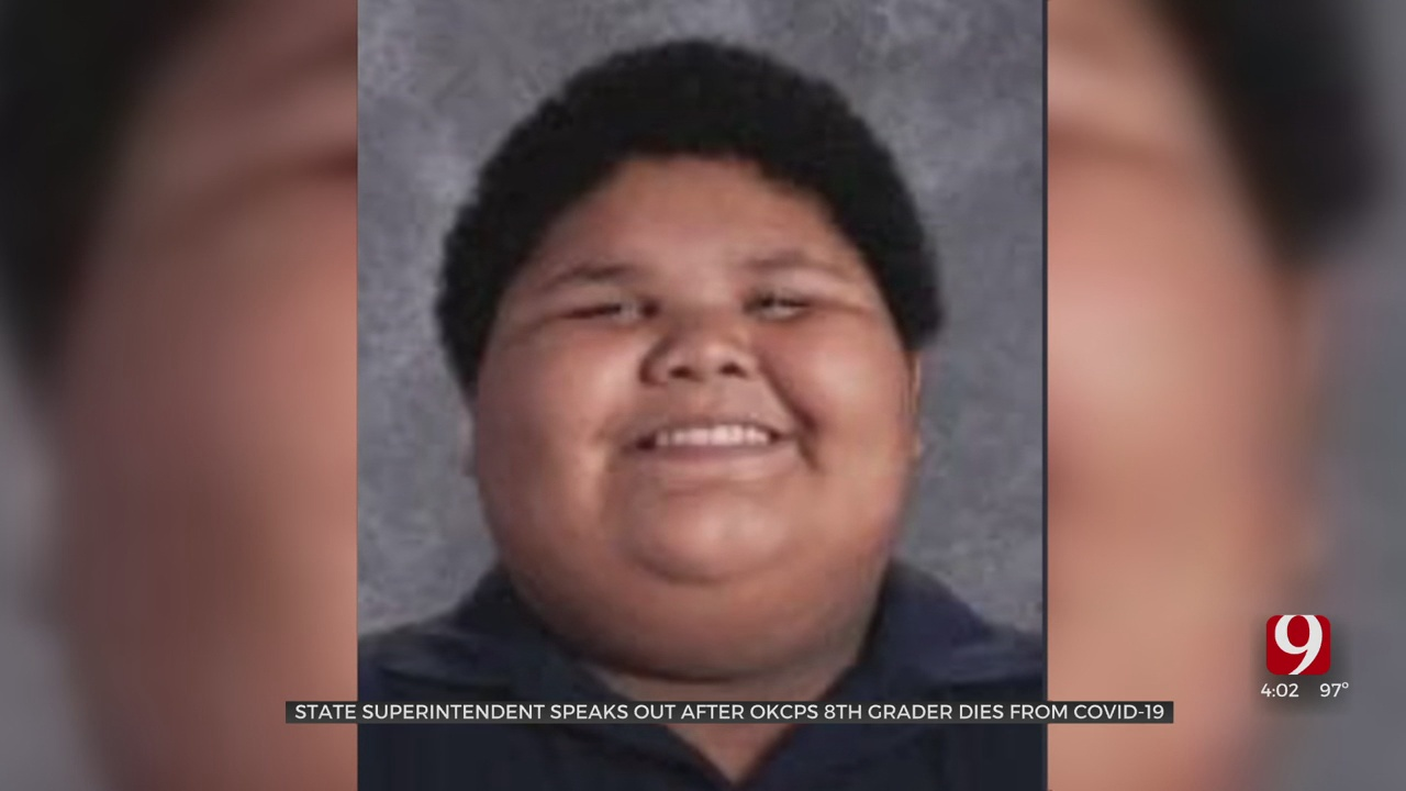 OKCPS 8th Grade Student Dies After Contracting COVID-19