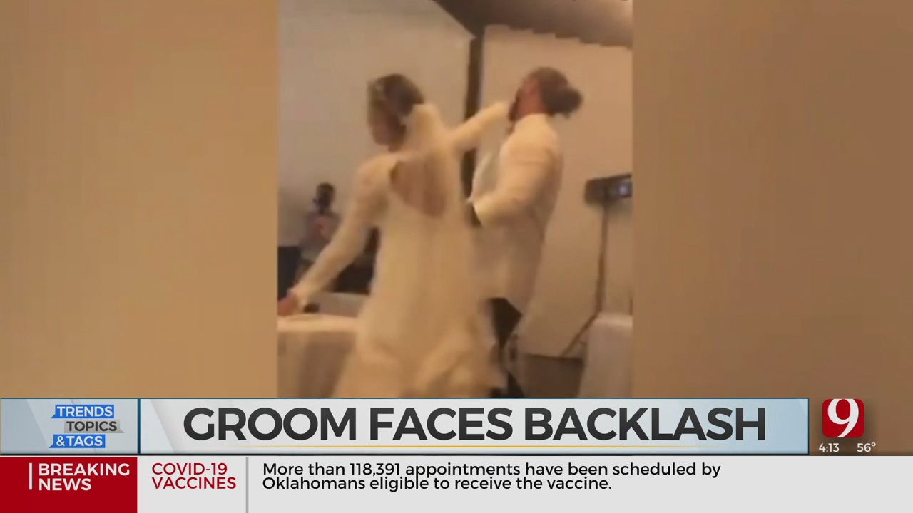 Trends, Topics & Tags: Groom Faces Backlash