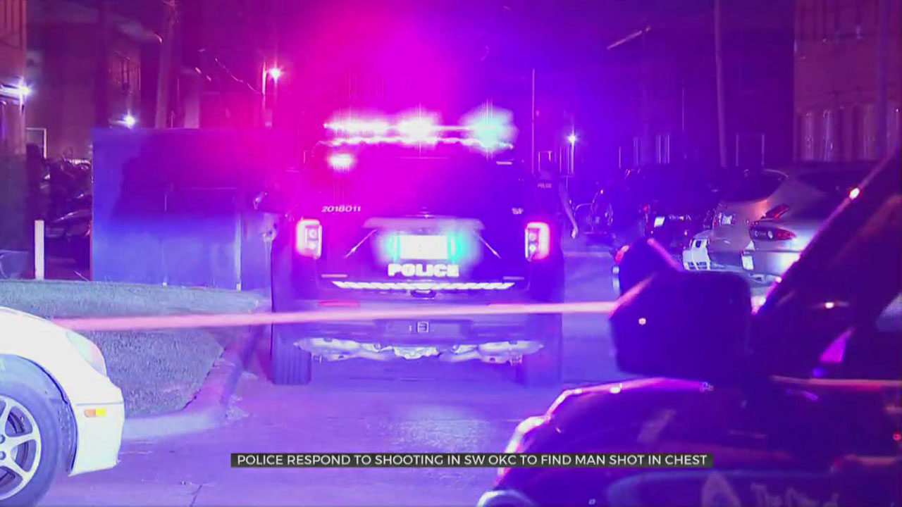 Shooting In SW OKC Sends Man To The Hospital
