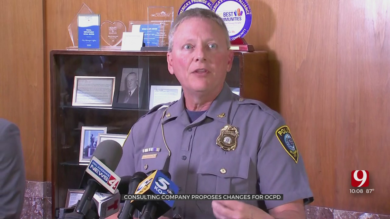 Oklahoma City Police Chief Reacts To Suggested Changes To Officer-Involved Shooting Procedure