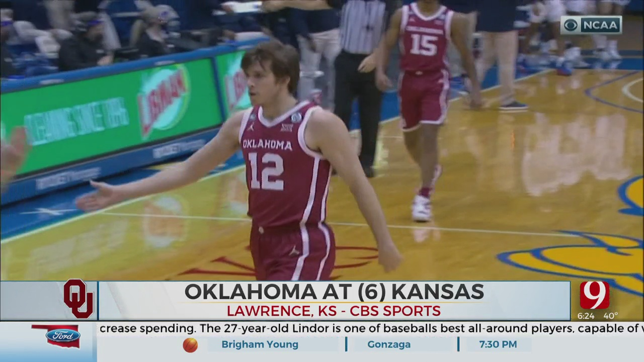 Kansas Holds On Late To Beat OU