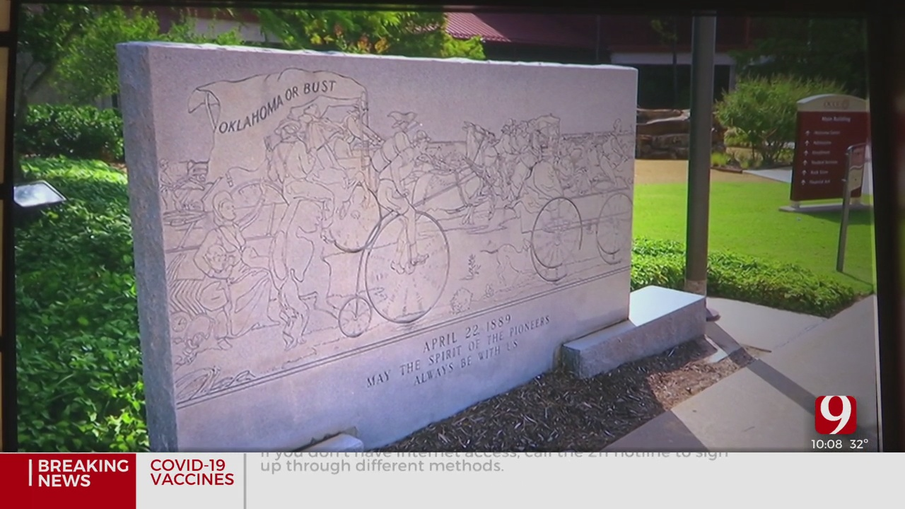 OCCC Removes Controversial Monument