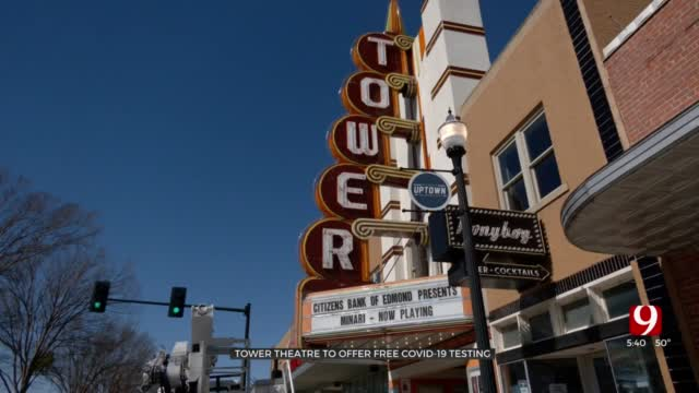 Tower Theatre To Offer Free COVID-19 Testing