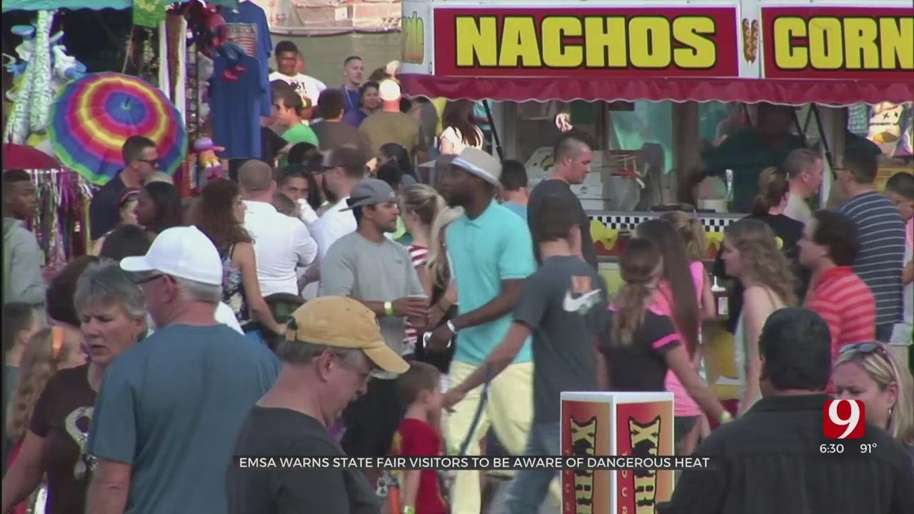 EMSA Warns State Fair Visitors To Be Aware Of Dangerous Heat
