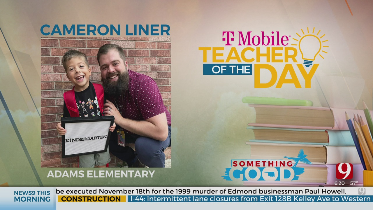 Teacher Of The Day: Cameron Liner