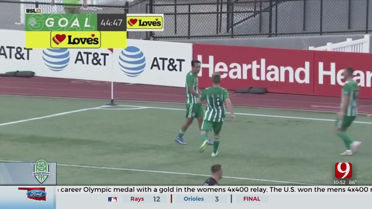 OKC Energy FC Continue Ascent In Standings