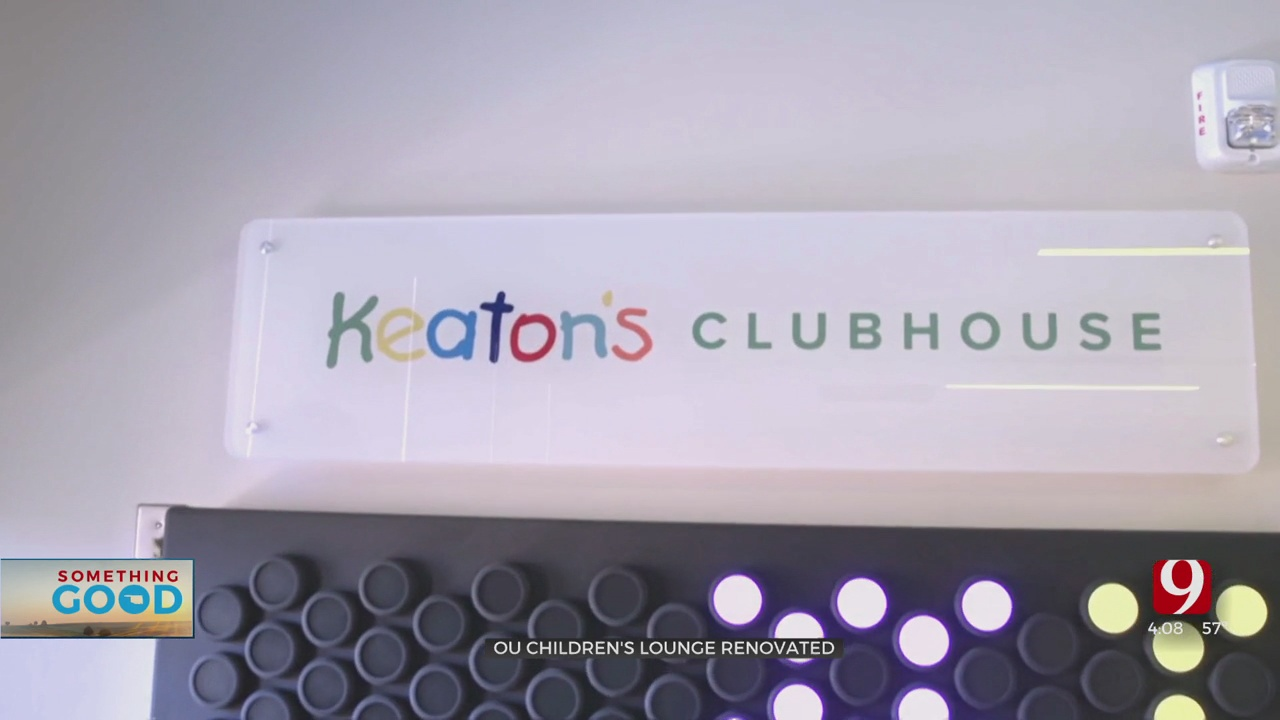 OU Children's Hospital Opens Refreshed Lounge With Help From Keaton's Kindness Foundation