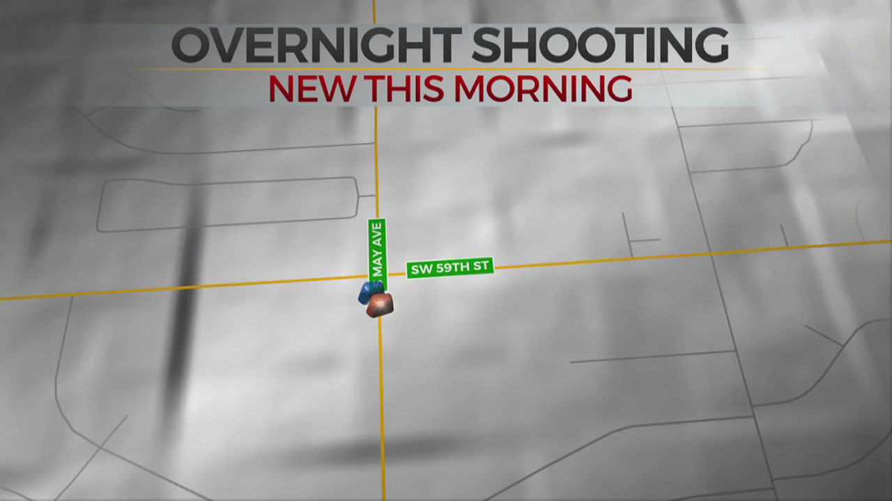 1 Taken To Hospital After Overnight SW OKC Shooting