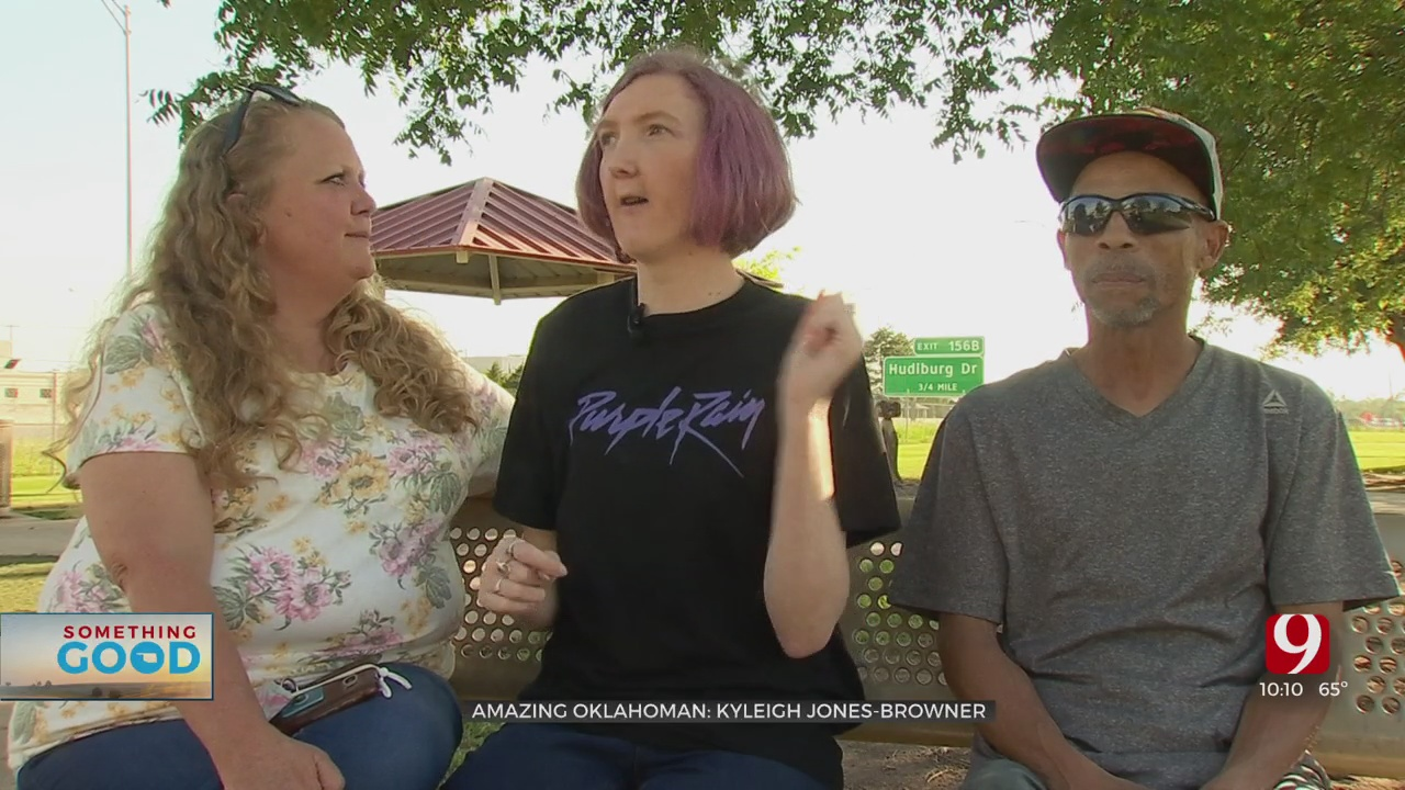 Amazing Oklahoman: Kyleigh Jones-Browner