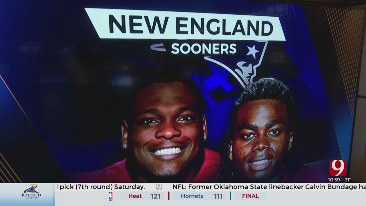 New England Sooners? Pats Draft Perkins And Stevenson