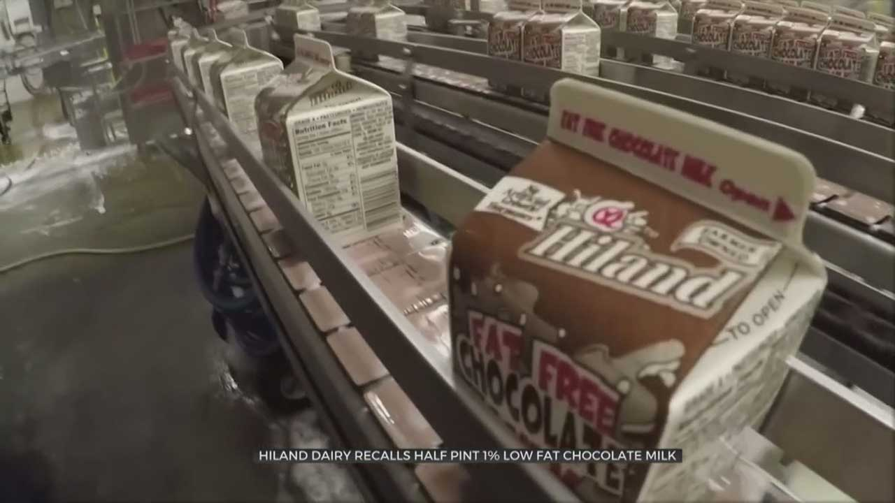 Hiland Dairy Answers Questions After Recalling Chocolate Milk Produced At Norman Plant