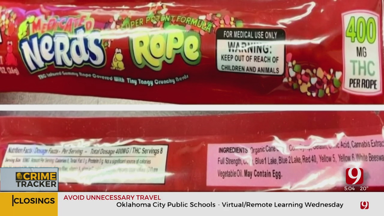 Okla. Law Enforcement Warns Parents About THC Products Packaged Like Candy