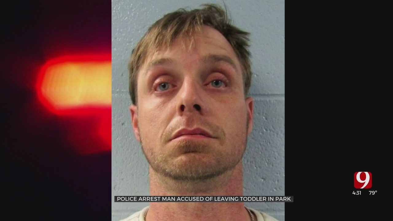 Man Arrested, Accused Of Leaving Toddler Alone In Edmond Park
