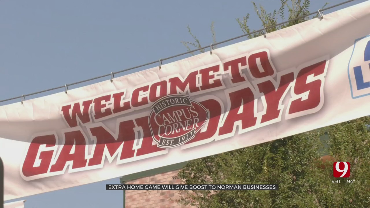 Businesses Expect Revenue Boost After First OU Football Game Moves To Norman