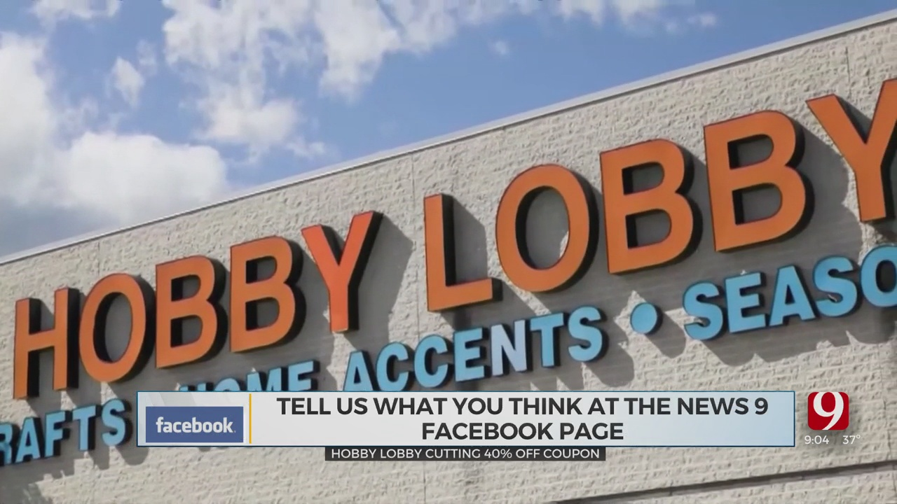 Hobby Lobby To Cut 40% Off Coupon