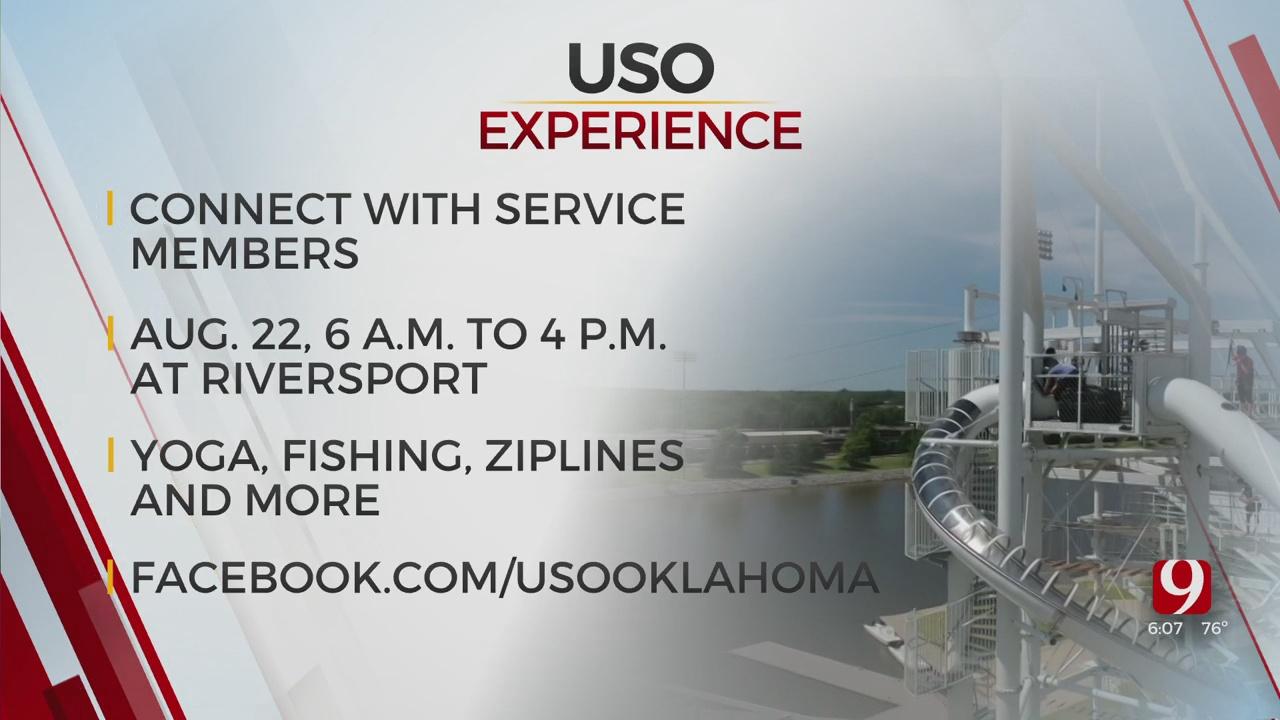 Sunday Marks Final Day Of USO Experience In Oklahoma City
