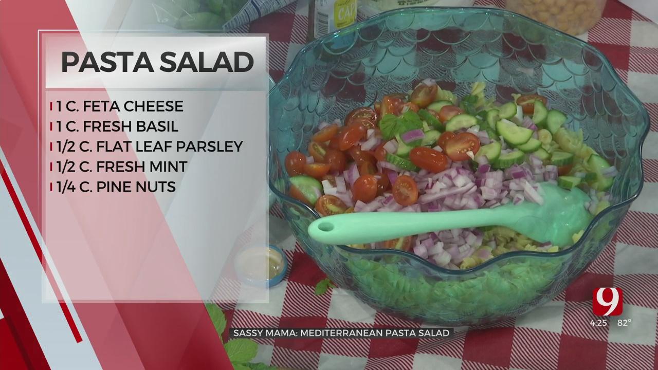 Sassy Mama: Mediterranean Pasta Salad