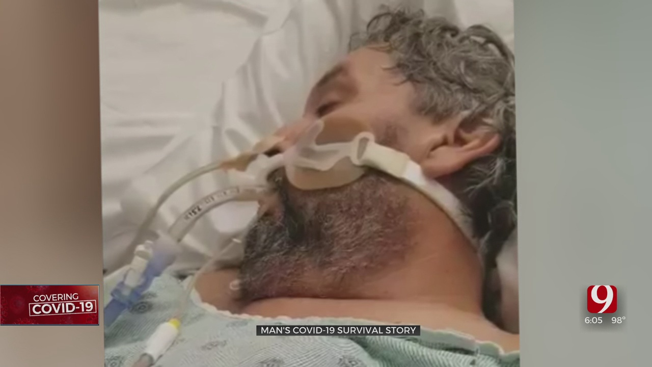 Former OKC City Employee Shares 72-Day Hospital Battle With COVID-19