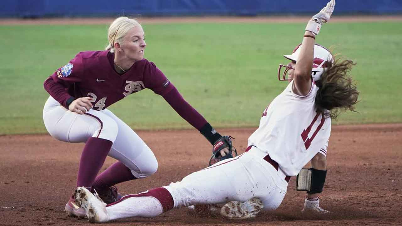 Sooners Stumble In WCWS Championship Series