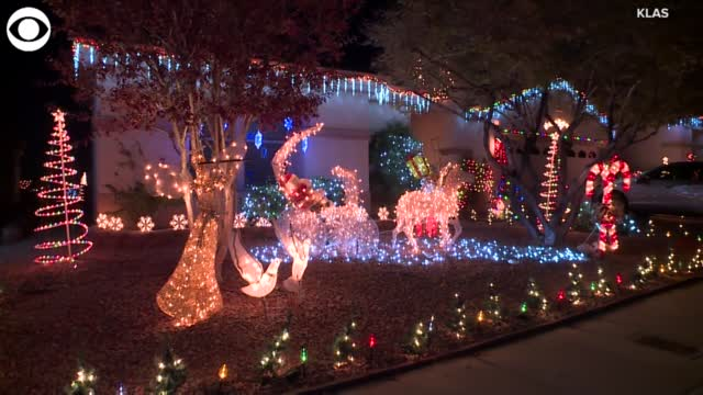 WATCH: Neighborhoods Already In Christmas Spirit