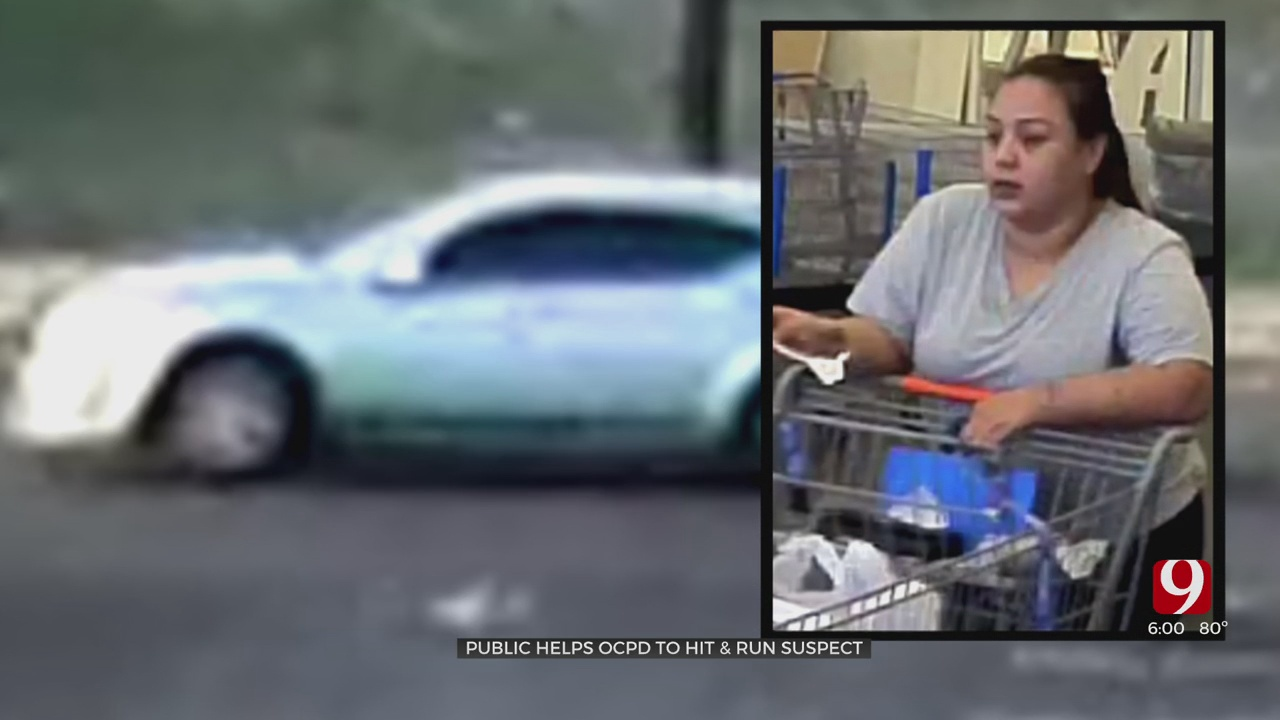 Police Credit Tips From Public In ID Of Driver Involved In OKC Hit-And-Run In Walmart Parking Lot