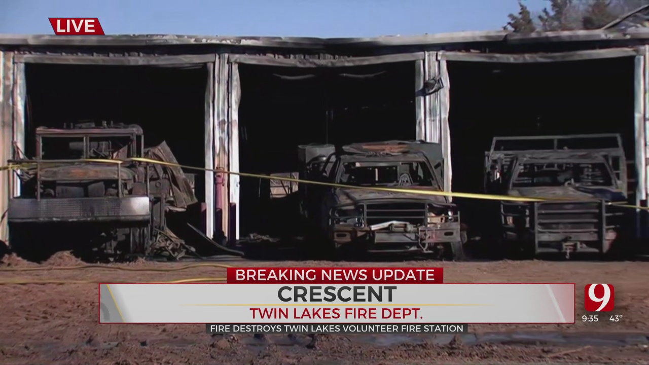 Twin Lakes Volunteer Fire Department Moving Forward After Losing Building In Devastating Fire