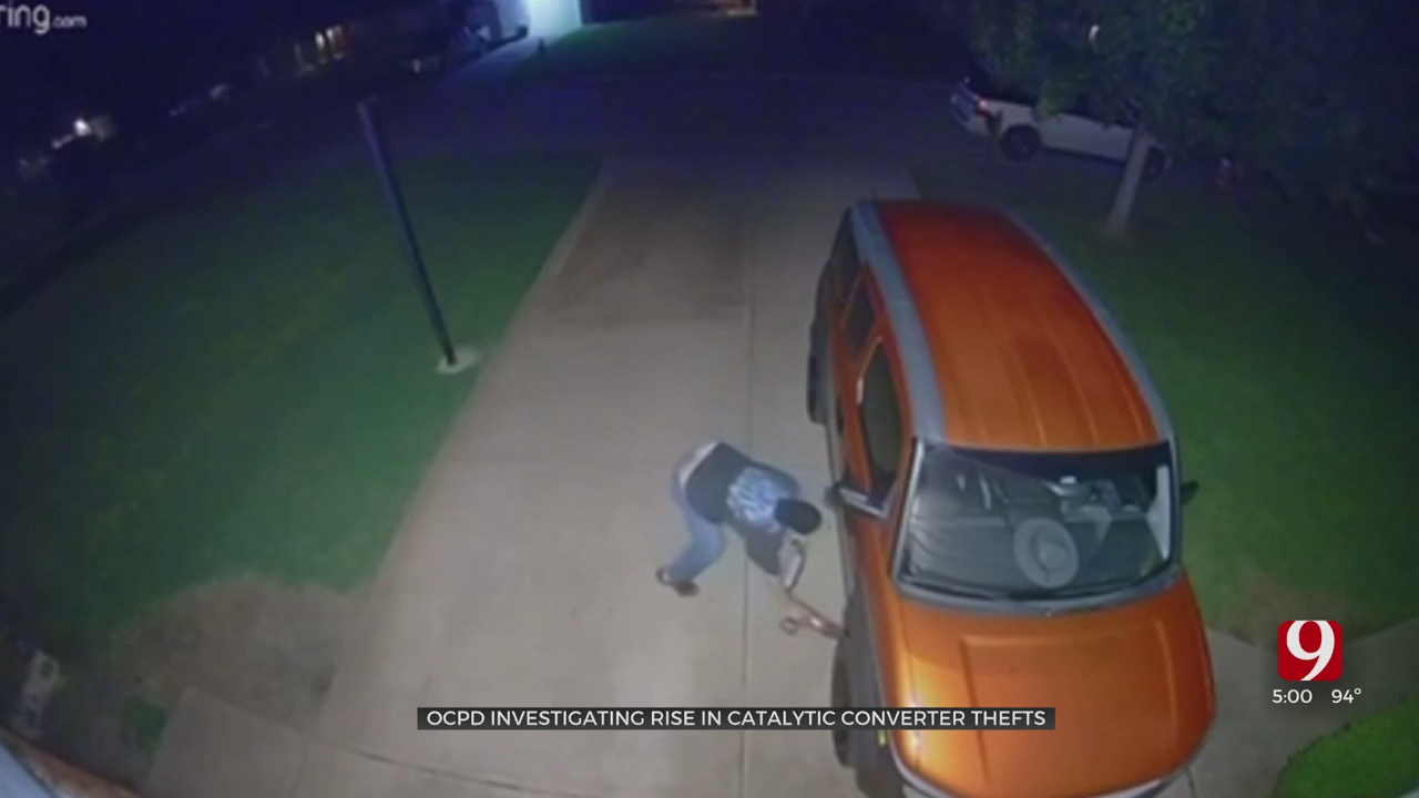 OCPD Investigating Rise In Catalytic Thefts