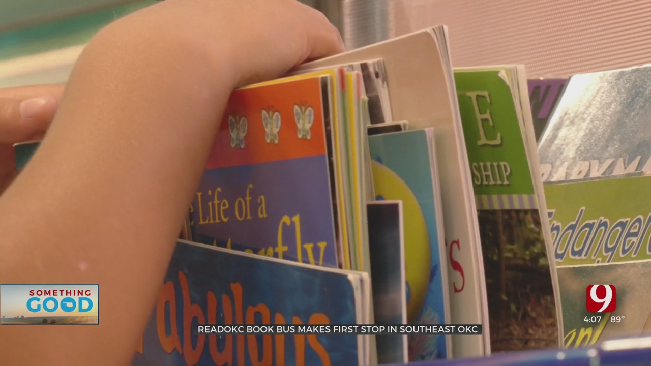 ReadOKC Bus To Set Up Shop This Upcoming School Year
