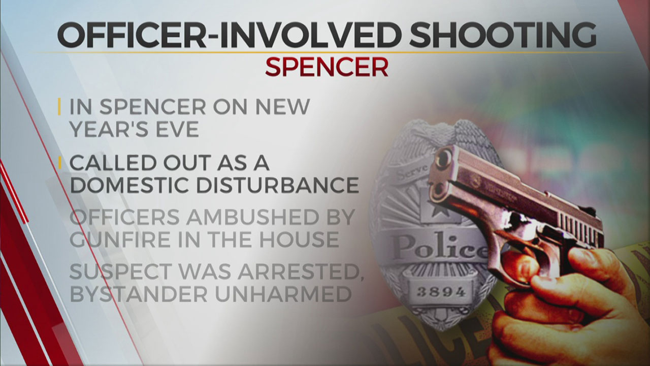 Oklahoma Co. Sheriff's Office To Hold News Conference On New Years Eve Police Shooting