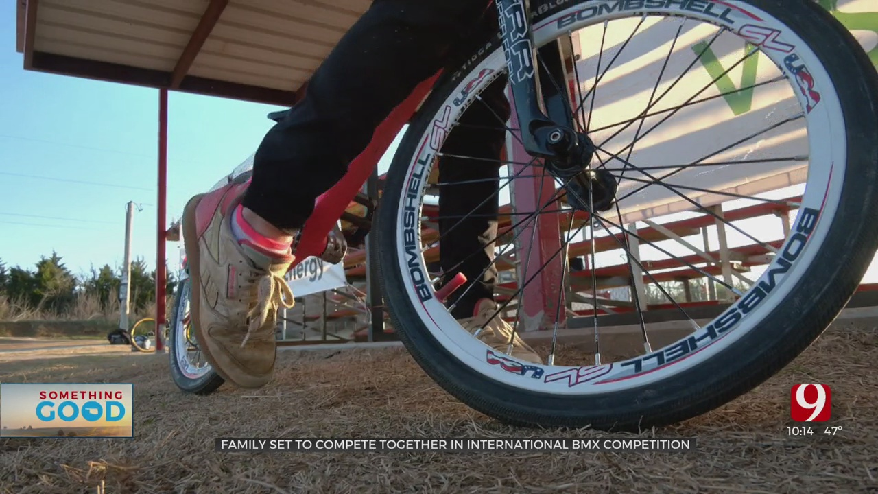 Del City Family Qualifies For BMX World Championship In The Netherlands