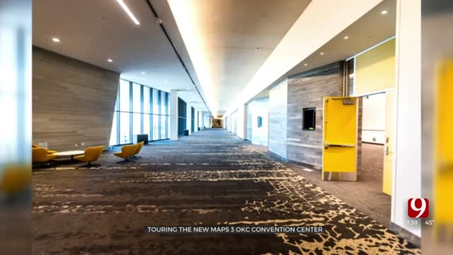 Watch: OKC Convention Center Opening For Tours