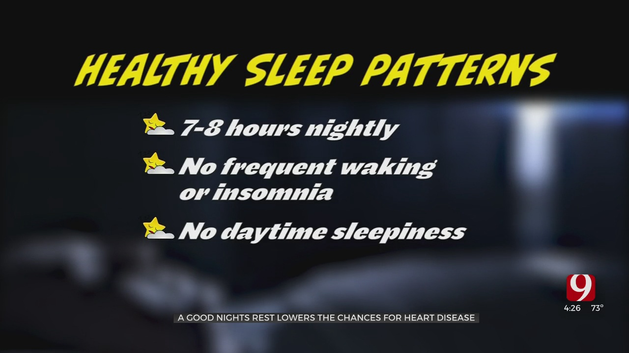 Medical Minute: A Good Night's Rest Lowers The Chances For Heart Disease