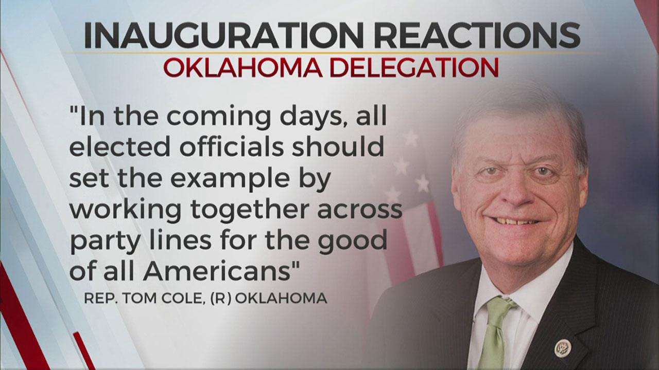 Oklahoma Congressional Delegation To New Biden Administration