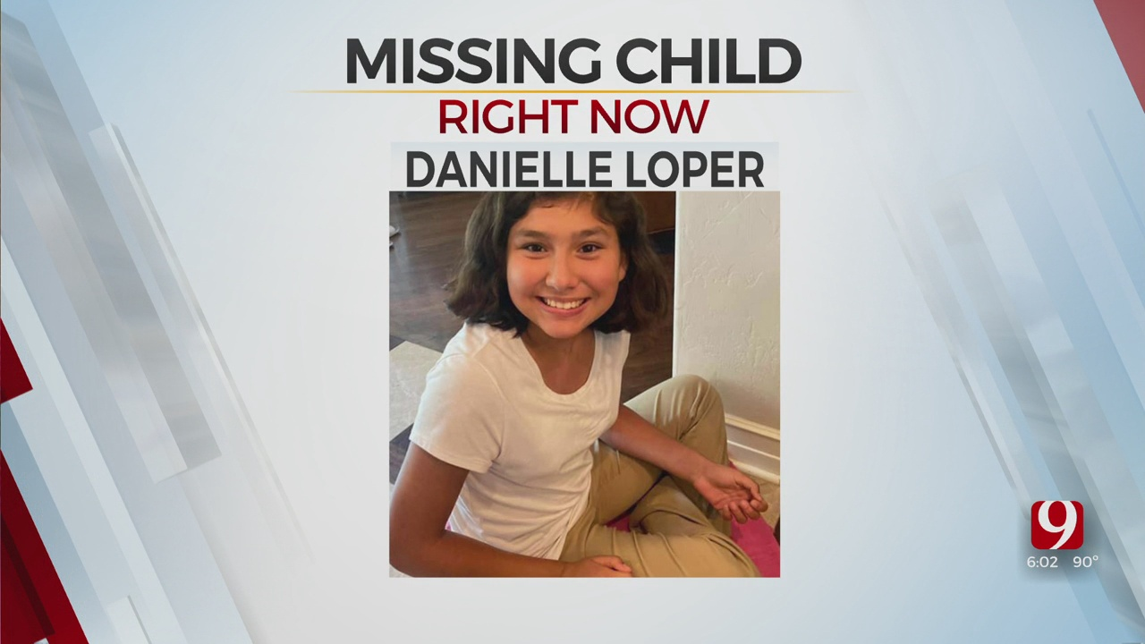 OCPD Searching For Missing OKC 12-Year-Old