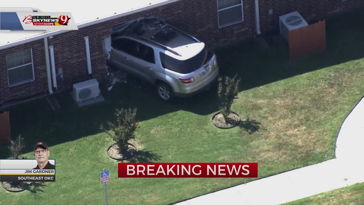 Vehicle Crashes Into Assisted Living Center In SE OKC