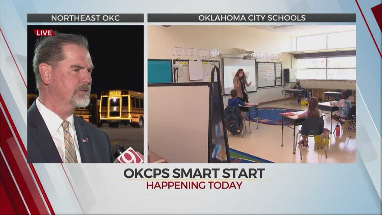 OKCPS Welcomes 30,000 Students Back To School On Monday