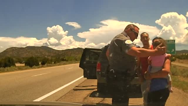 WATCH: Deputy Saves 1-Year-Old Girl Who Was Choking During A Traffic Stop